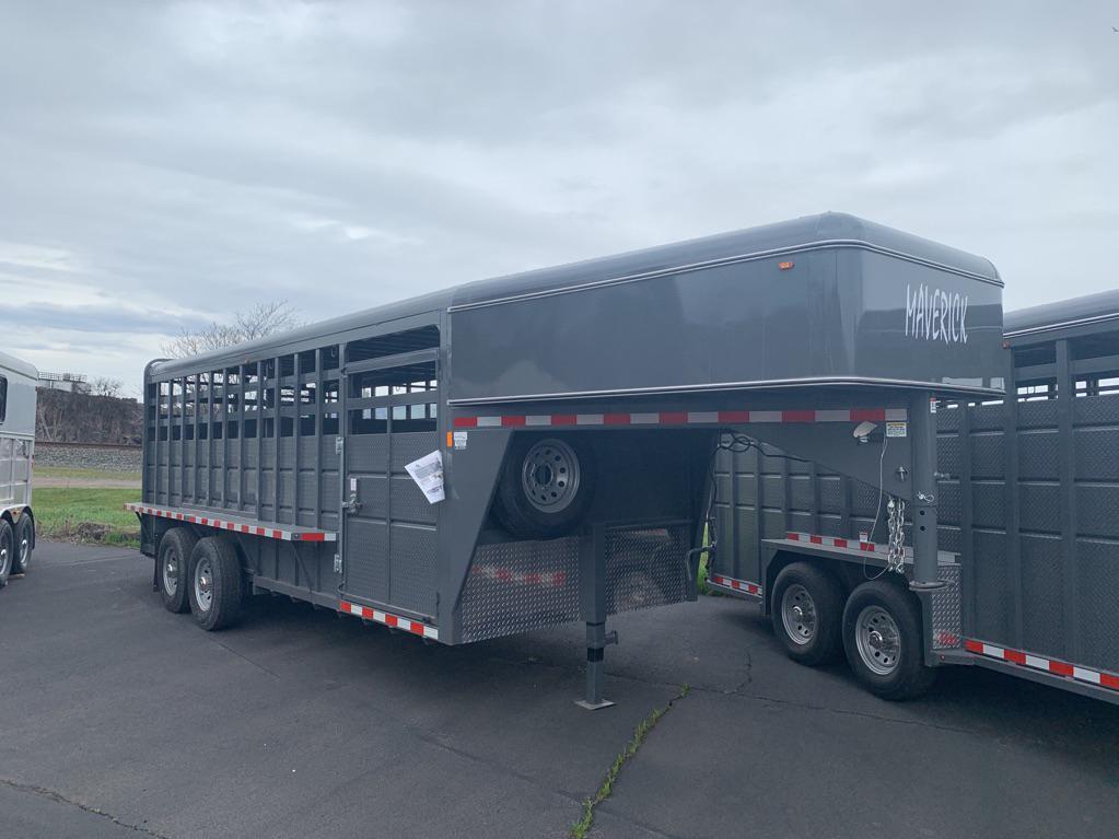 2019 Cbqt Mavgnst20-14K HD Straight GN Stock 20 HORSE TRAILER