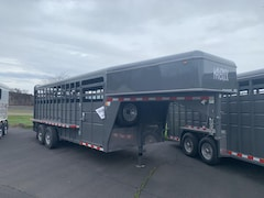 Buy a 2019 Cbqt Mavgnst20-14K HD Straight GN Stock 20 HORSE TRAILER in The Dalles, OR