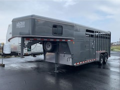 Buy a 2018 Cbqt Mavgnst20-14K HD Combo GN Stock 20 HORSE TRAILER in The Dalles, OR