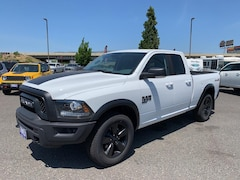 New 2019 Ram 1500 Classic WARLOCK QUAD CAB 4X4 6'4 BOX Quad Cab 1C6RR7GG8KS617217 in The Dalles