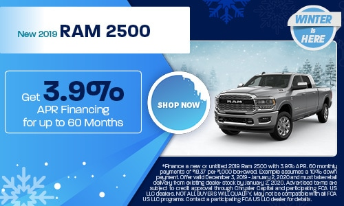 December 2019 2500 Special
