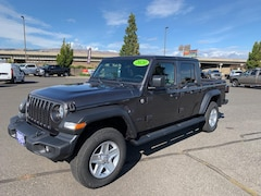 New 2020 Jeep Gladiator SPORT S 4X4 Crew Cab 1C6HJTAG5LL142237 in The Dalles