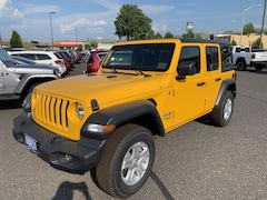 New 2019 Jeep Wrangler UNLIMITED SPORT S 4X4 Sport Utility in The Dalles