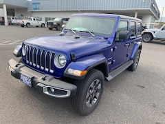 New 2018 Jeep Wrangler UNLIMITED SAHARA 4X4 Sport Utility in The Dalles