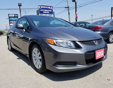 2012 Honda Civic Coupe EX w/ Alloy rims | Sunroof | Bluetooth | A/C Coupe