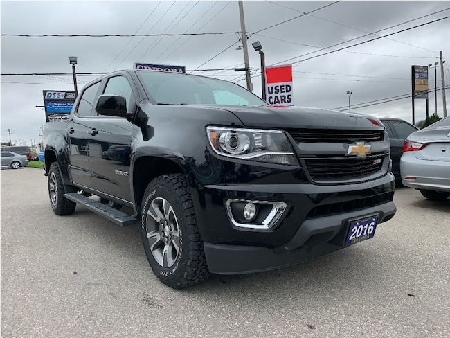 2016 Chevrolet Colorado z71 | 4x4, Tow Pkg, Heated Seats, Backup Cam Crew Cab