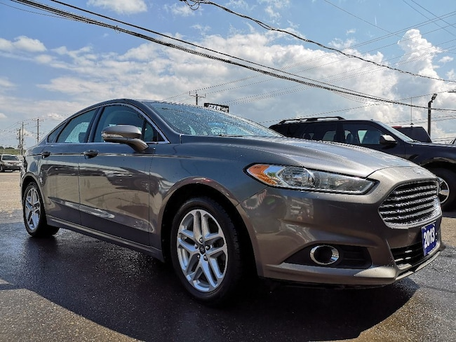 2013 Ford Fusion SE | Bluetooth | Leather interior Sedan