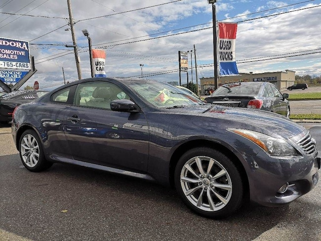 2011 INFINITI G37X AWD V-6 | Leather | Bose System Sunroof Coupe