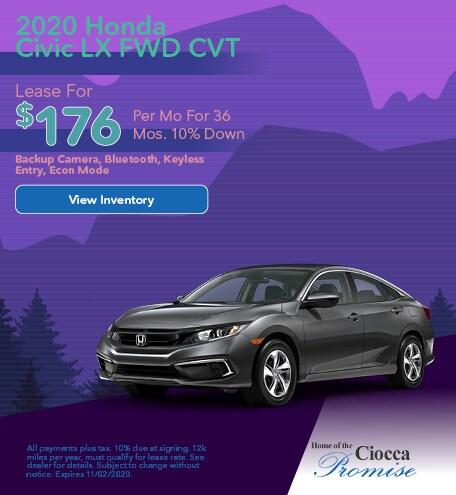 2020 Honda Civic LX FWD CVT