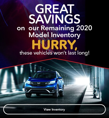 Great Savings on  our Remaining 2020 Model Inventory