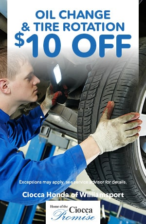 Oil Change & Tire Rotation $10 Off