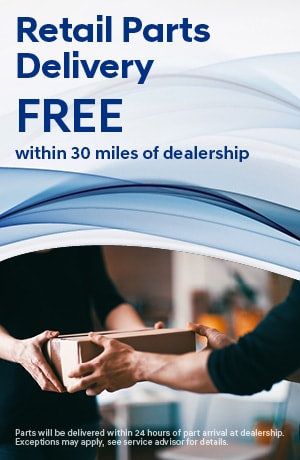 Retail Parts Delivery FREE