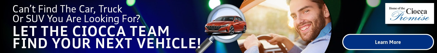 Order Your Vehicles from Ciocca Hyundai of Williamsport