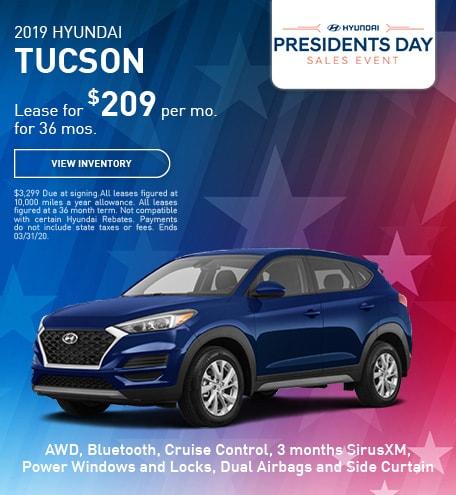 February 2019 Hyundai Tucson