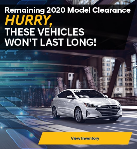 Remaining 2020 Inventory Clearance