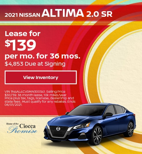 2021 Nissan Altima 2.0 SR