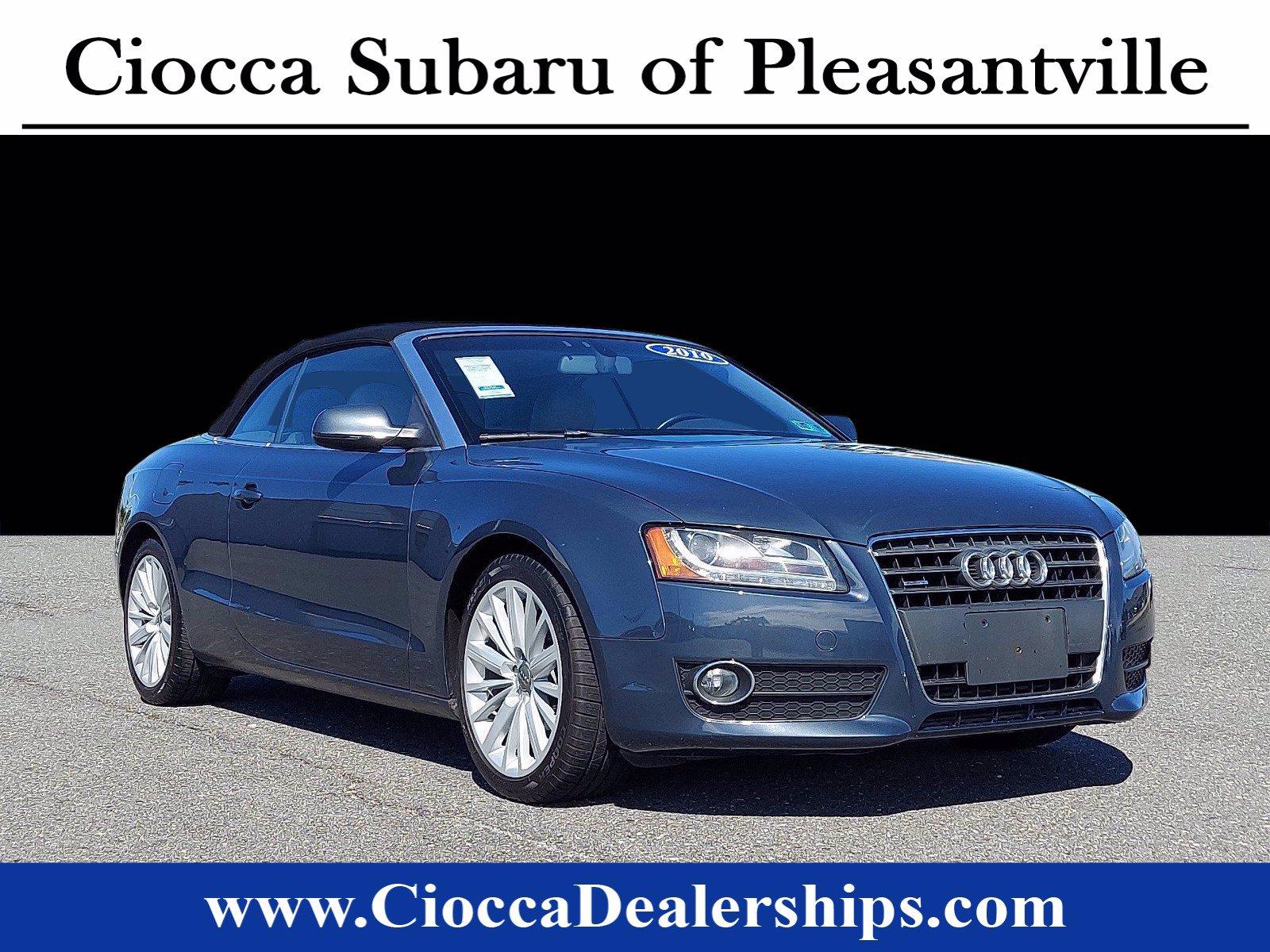 2010 Audi A5 Cabriolet Auto quattro Premium Plus