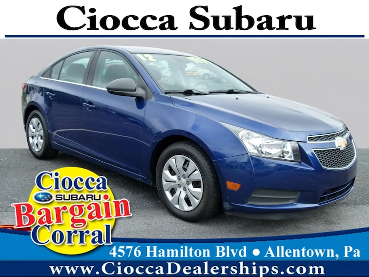 Used 2012 Chevrolet Cruze LS Sedan in Allentown, PA