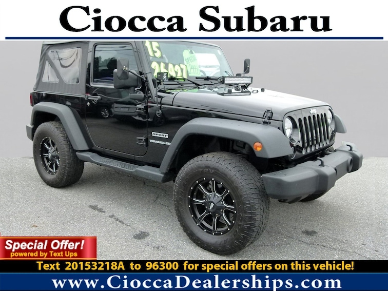 Used 2015 Jeep Wrangler Sport SUV in Allentown, PA