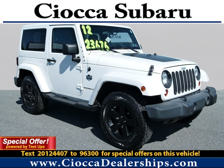 Used 2012 Jeep Wrangler Arctic SUV in Allentown, PA