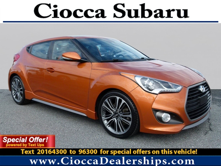Used 2016 Hyundai Veloster Turbo Hatchback in Allentown, PA