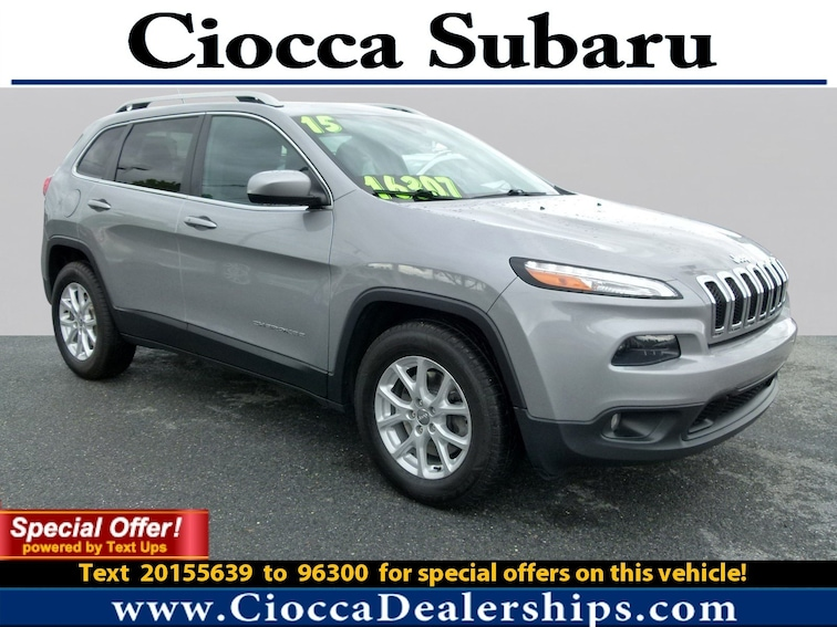 Used 2015 Jeep Cherokee Latitude SUV in Allentown, PA