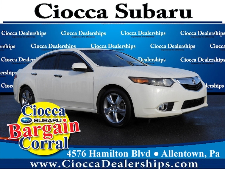 Used 2011 Acura TSX 4dr Sdn I4 Man Sedan in Allentown, PA