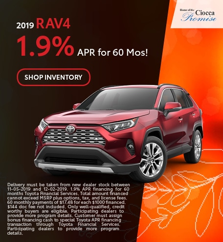 2019 RAV4 Models