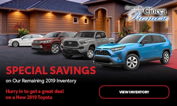 Toyota Trucks For Sale Near Me >> Ciocca Toyota Of Williamsport New Used Toyota Dealer Muncy