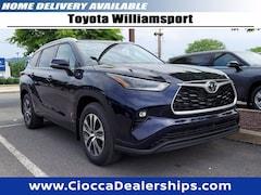 new 2021 Toyota Highlander XLE SUV for sale near williamsport pa