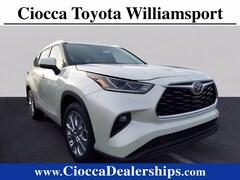 new 2021 Toyota Highlander Limited SUV pennsylvania