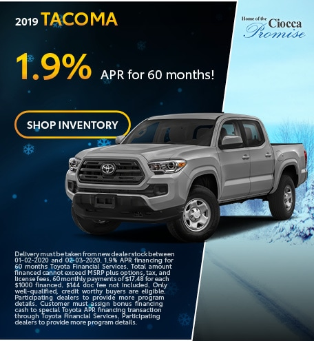 January 2019 Tacoma