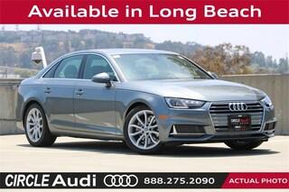 New 2019 Audi A4 2.0T Premium Sedan in Long Beach, CA