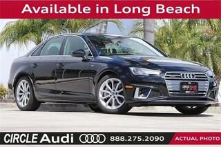 New 2019 Audi A4 2.0T Quattro Premium Sedan in Long Beach, CA