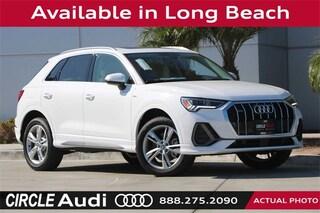 New 2019 Audi Q3 2.0T S line Premium SUV in Long Beach, CA