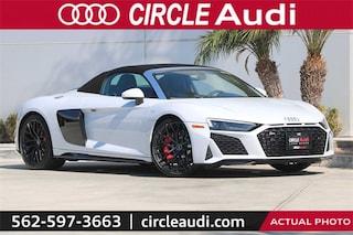New 2020 Audi R8 5.2 V10 Spyder in Long Beach, CA