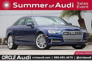 New 2018 Audi A4 2.0T Tech Premium Sedan in Long Beach, CA