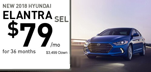 2018 Hyundai Elantra Lease