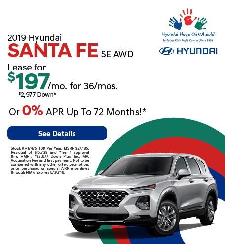 2019 - Santa Fe - September