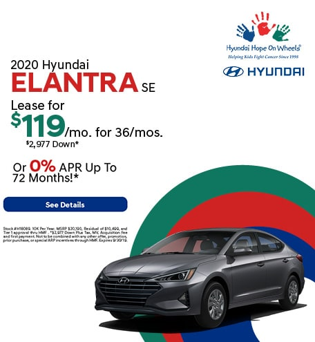 2020 - Elantra - September