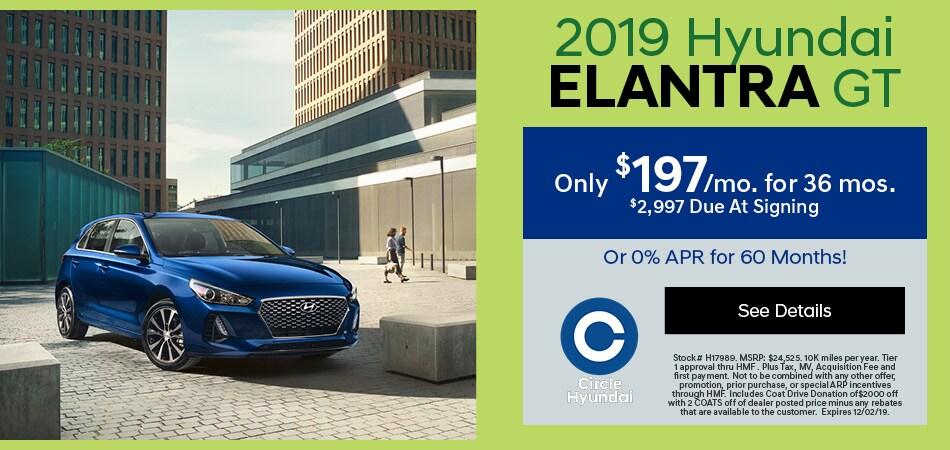 2019 Elantra GT November