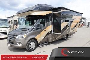 2020 Entegra Coach Qwest 24L Classe C VR/RV Mercedes Diesel Full Paint + Crics Hydrauliques + toit en fibre