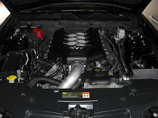 2011 Ford Mustang 5.0L 2011 Supercharged Vortech 585whp Coupe