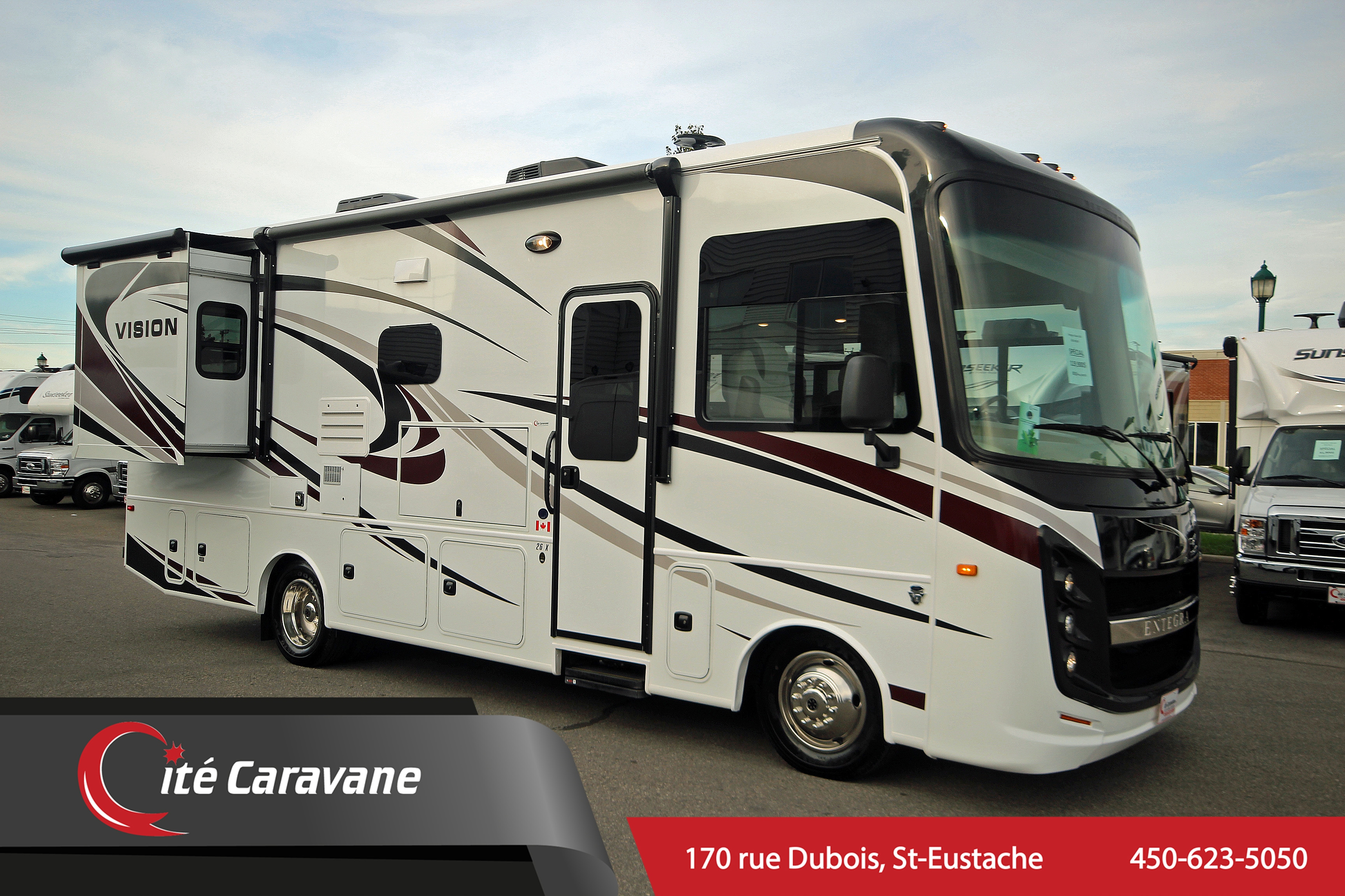 Used 2019 Entegra Coach Vision 26X Classe A RV/VR For