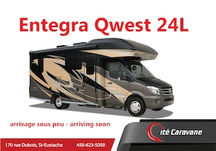 2020 ENTEGRA Qwest 24L 2020 NEUF Sprinter Mercedes 1 extension full wall