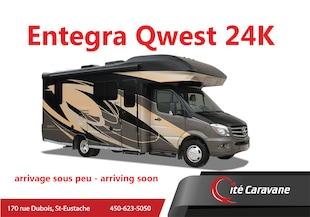 2020 ENTEGRA Qwest 24k 2020 NEUF ! Crics hydrauliques Mercedes turbo diesel sprinter