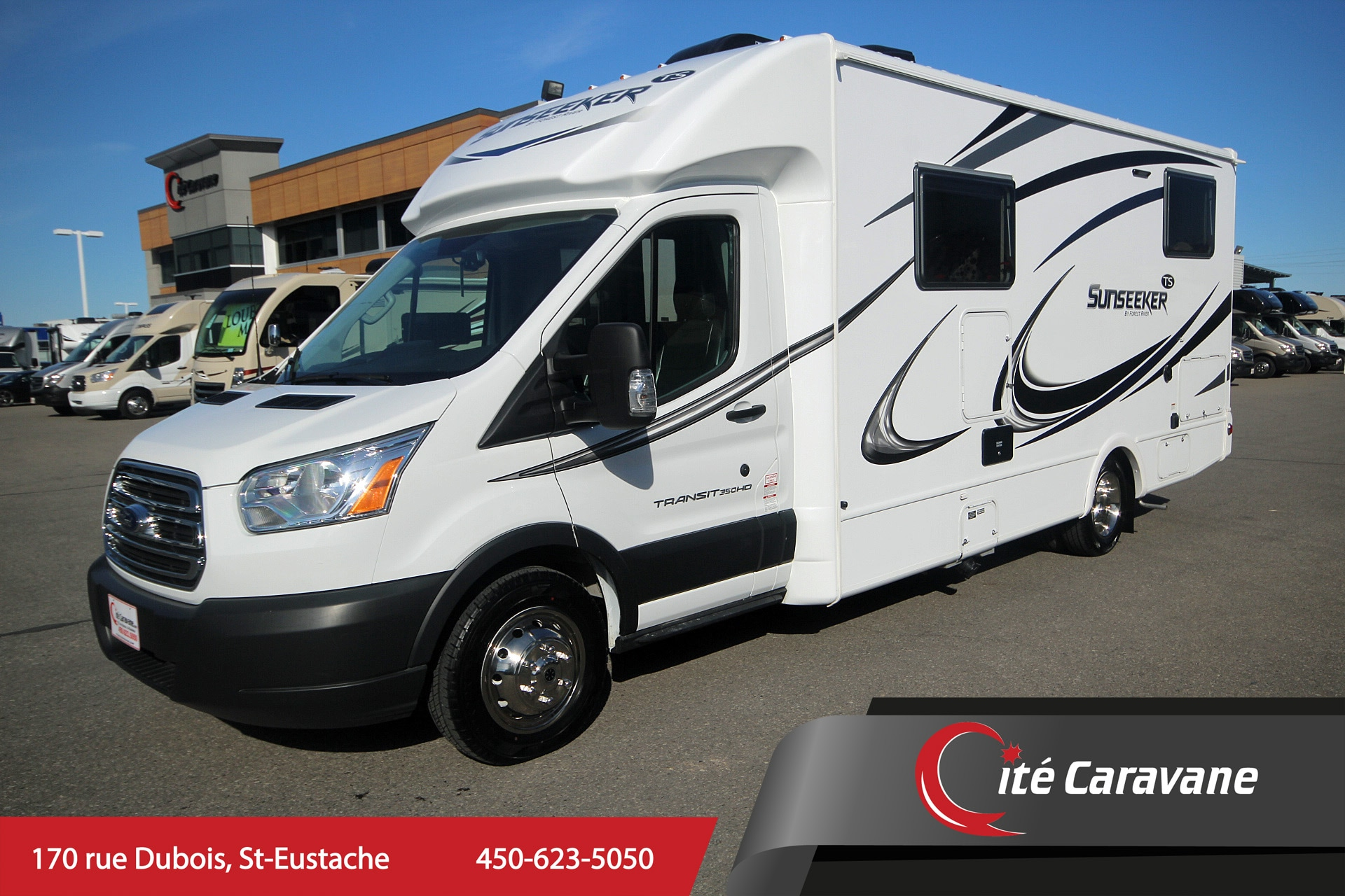 2019 FOREST RIVER Sunseeker 2380 TS B+ 2019 usagé Ford transit
