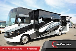 2018 FOREST RIVER Georgetown GT5 36B5 DEUX SALLE DE BAIN COMPLET WOW NEUF, Full paint, 3 extensions Classe A