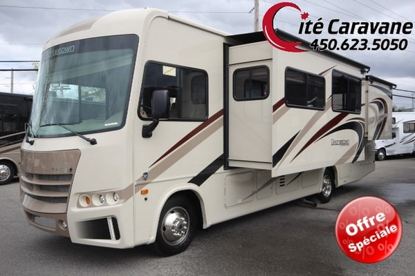 2018 FOREST RIVER Georgetown GT3 30X LIT KING 2 EXTENSIONS WOW -