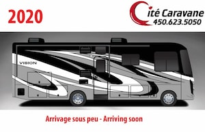 2020 Entegra Coach Vision 26X ! Full paint Obsidian 2020 NEUF Classe A 26 pieds